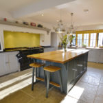 Bright Sunny Farmhouse Kitchen