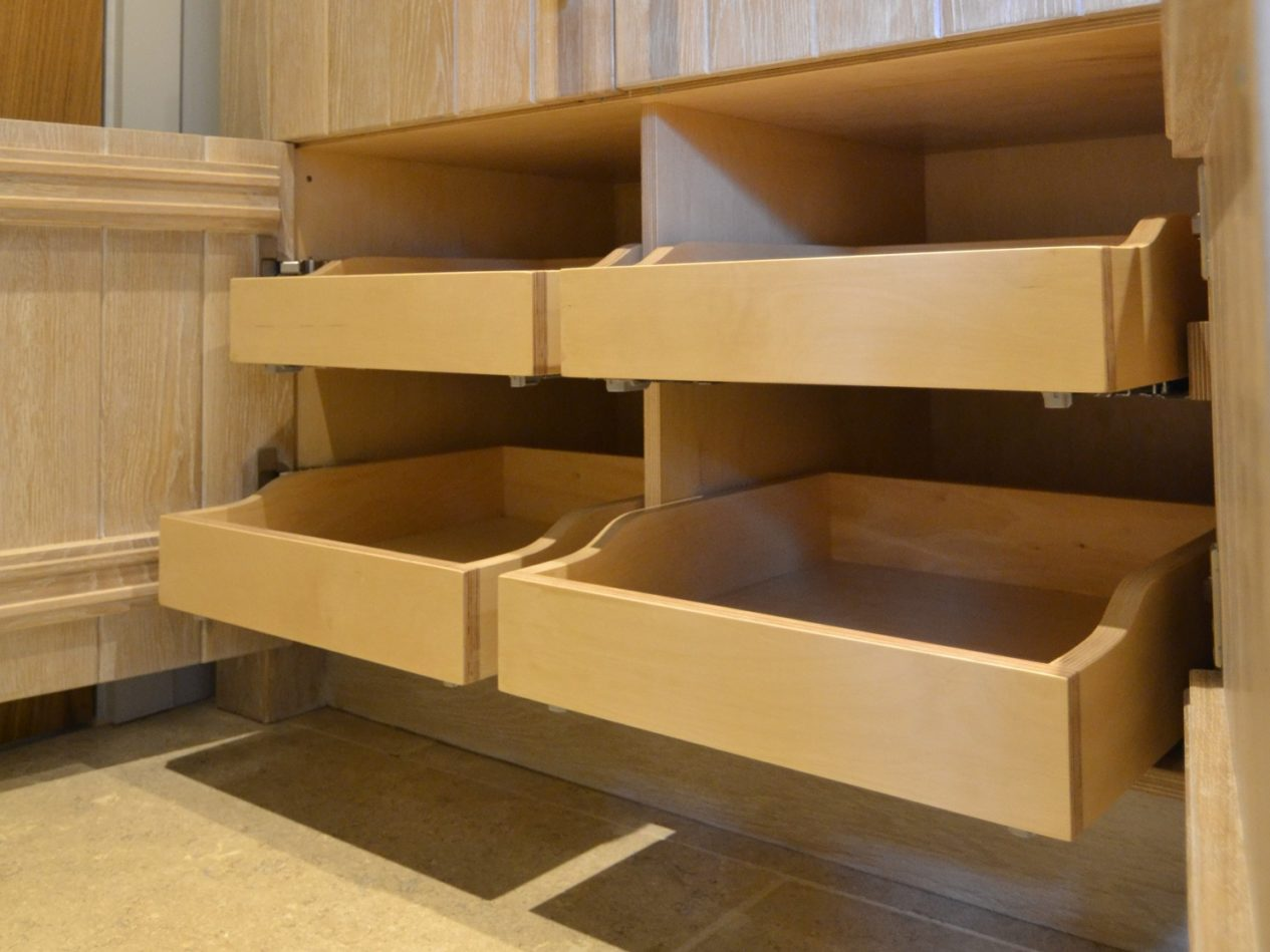 Handmade Pull out drawer boxes